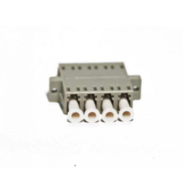 LC Female to LC Female Multi Mode Quad Adapter