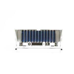 96 Port Rack Mount (4RU) w/12x8 SC Adapter Plates