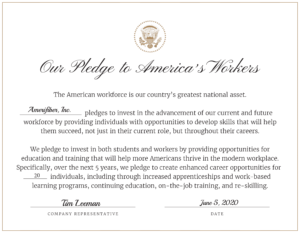 White House' Pledge to America's Workers